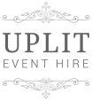 Uplit Event Hire Logo